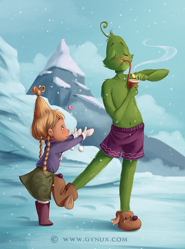 The Grinch and Cindy