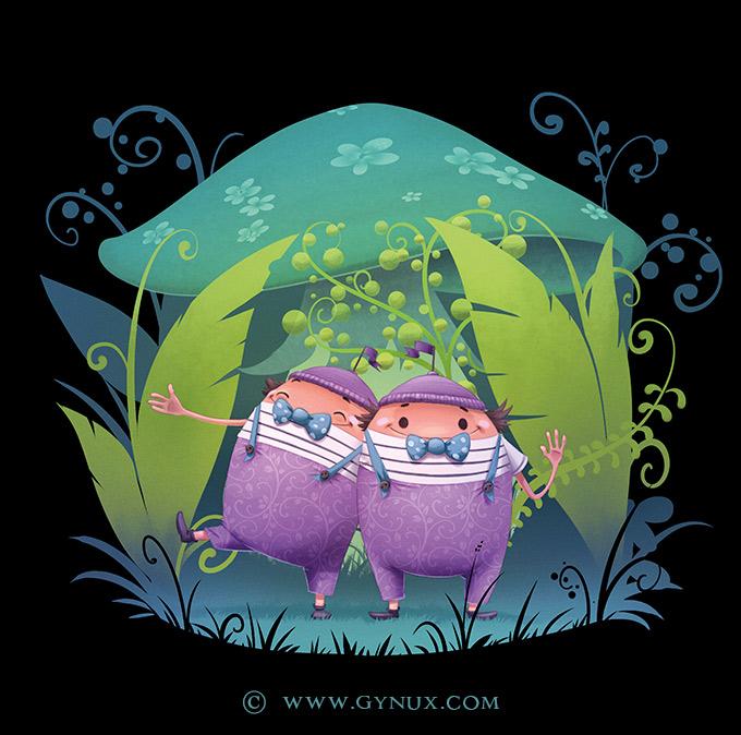 Wonderland's twins