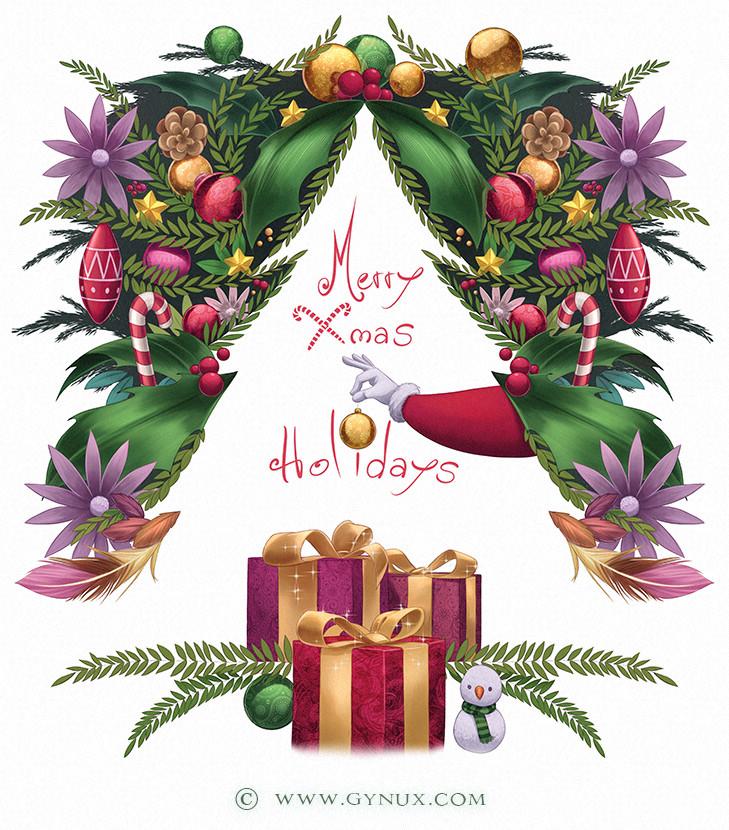 Christmas card - 2018